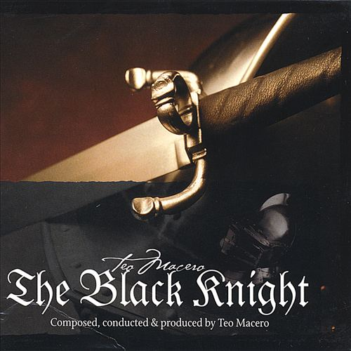 TEO MACERO - Black Knight cover