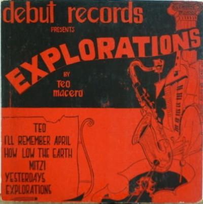 TEO MACERO - Explorations cover