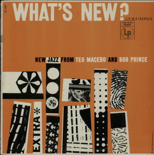 TEO MACERO - Teo Macero And Bob Prince : What's New? cover