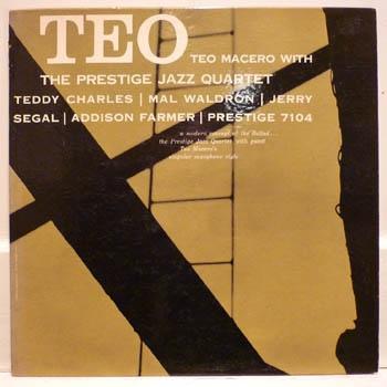 TEO MACERO - Teo (With Prestige Jazz Quartet) cover