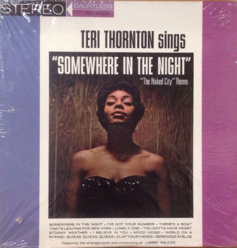 TERI THORNTON - Somewhere In The Night cover