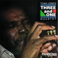 THAD JONES - Thad Jones Quartet : Three And One cover