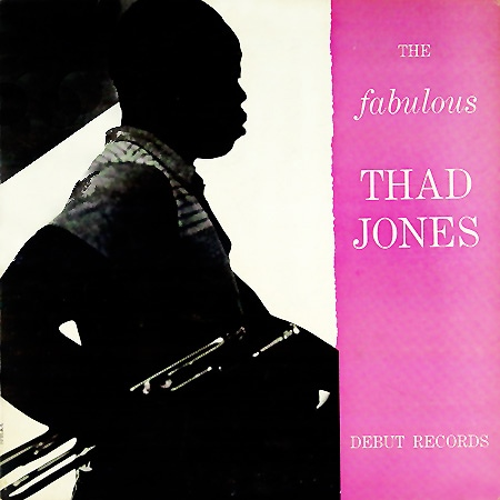 THAD JONES - The Fabulous Thad Jones cover