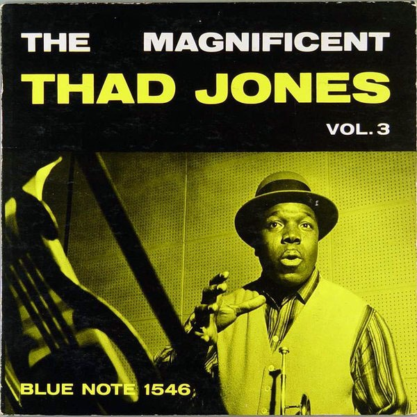 THAD JONES - The Magnificent, Volume 3 cover
