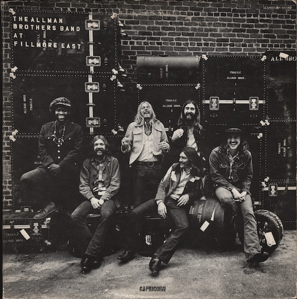 THE ALLMAN BROTHERS BAND - At Fillmore East cover