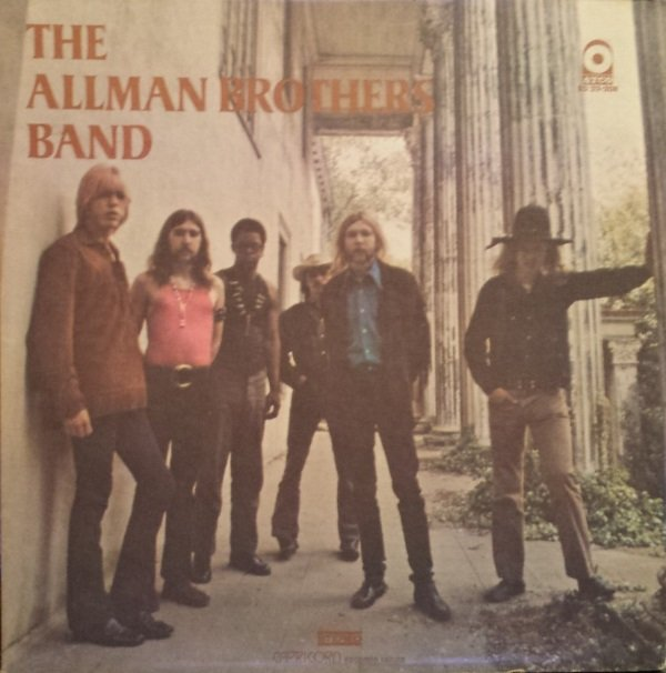 THE ALLMAN BROTHERS BAND - The Allman Brothers Band cover