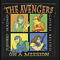 THE AVENGERS - On a Mission cover