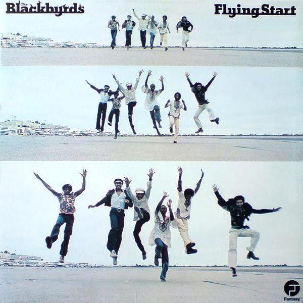 THE BLACKBYRDS - Flying Start cover