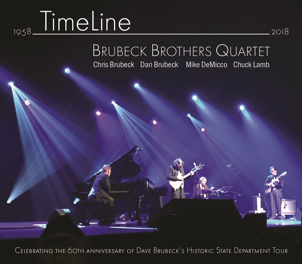 THE BRUBECK BROTHERS - Timeline cover