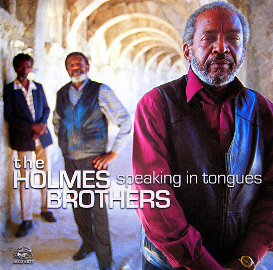 THE HOLMES BROTHERS - Speaking In Tongues cover