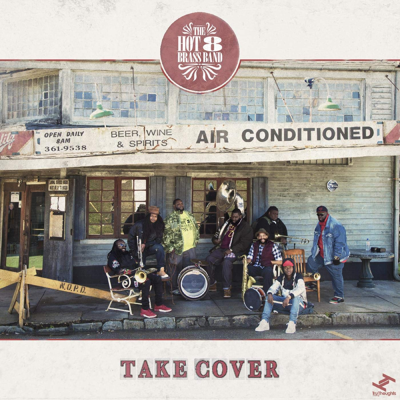 THE HOT 8 BRASS BAND - Take Cover cover