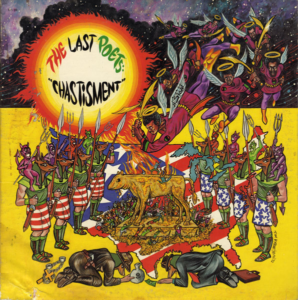 THE LAST POETS - Chastisment cover