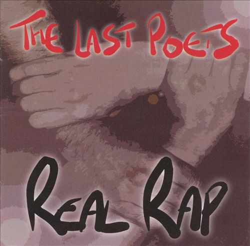 THE LAST POETS - The Real Rap cover