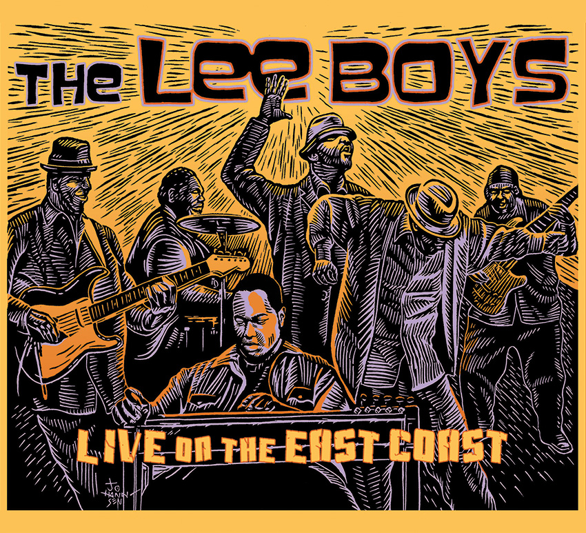 THE LEE BOYS - Live On the East Coast cover