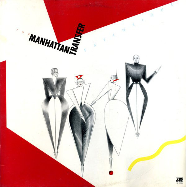 THE MANHATTAN TRANSFER - Extensions cover