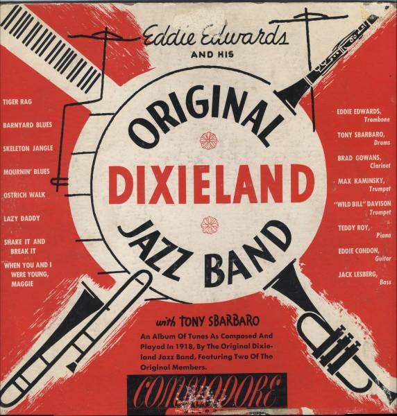 THE ORIGINAL DIXIELAND JAZZ BAND - Eddie Edwards And His Original Dixieland Jazz Band cover
