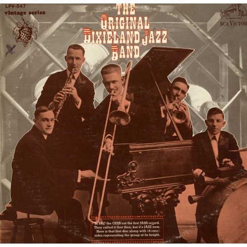 THE ORIGINAL DIXIELAND JAZZ BAND - The Original Dixieland Jazz Band cover