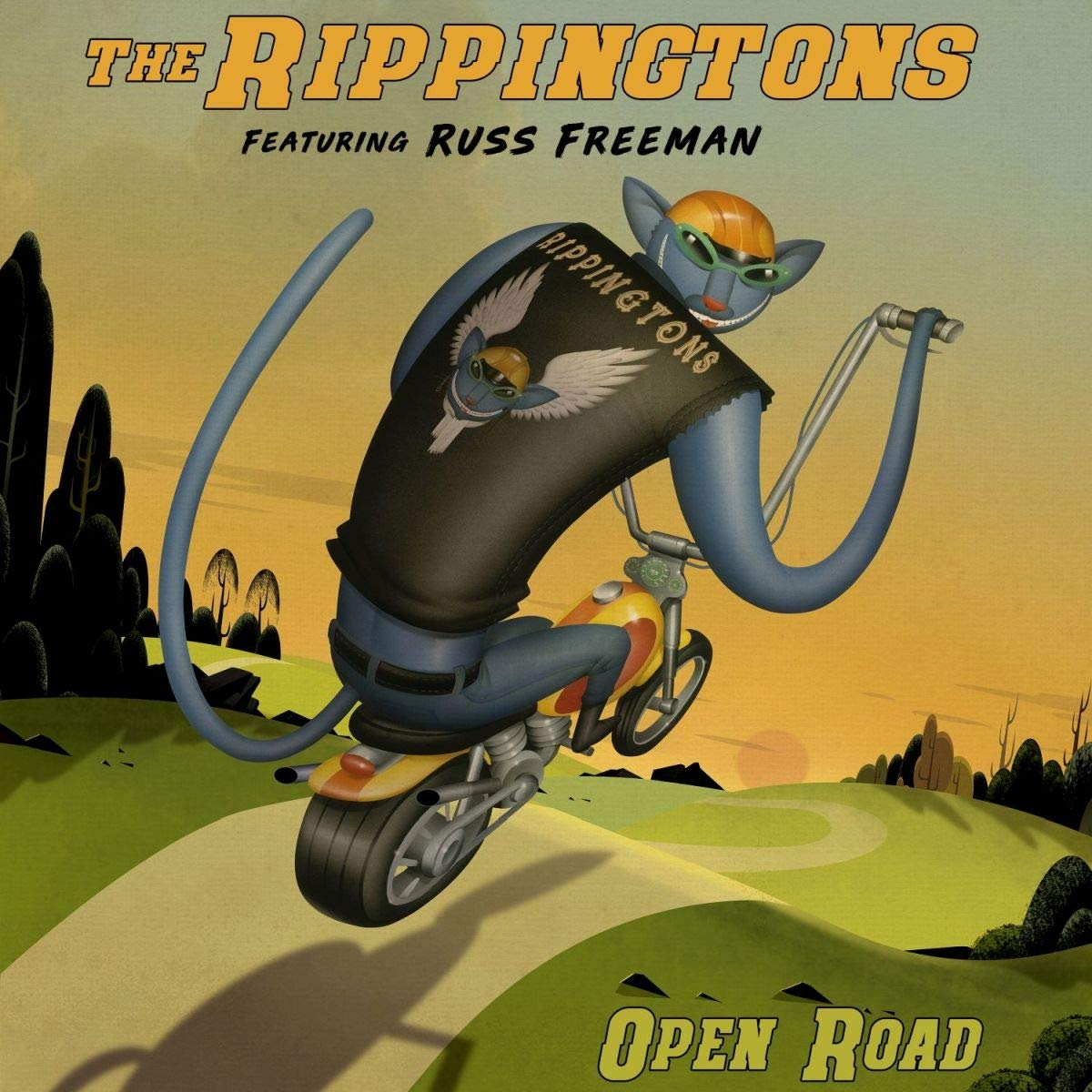 THE RIPPINGTONS - Open Road cover