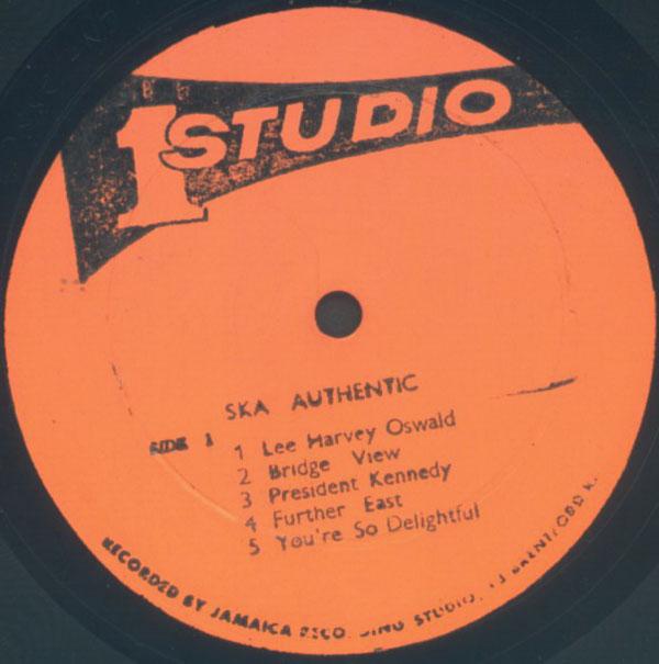 THE SKATALITES - Ska Authentic cover