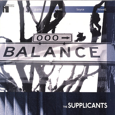 THE SUPPLICANTS - Balance cover