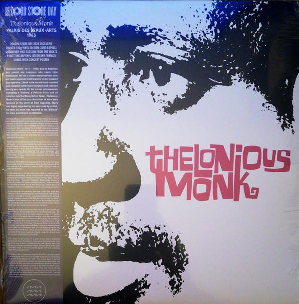 THELONIOUS MONK - Palais des Beaux-Arts 1963 cover