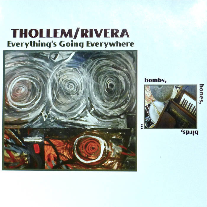 THOLLEM MCDONAS - Thollem/Rick Rivera :  Everything's Going Everywhere cover