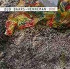 AB BAARS Duo Ab Baars / Ig Henneman : Stof album cover