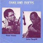 ABDUL WADUD Abdul Wadud & Julius Hemphill: Oakland Duets album cover