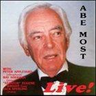 ABE MOST Live! album cover