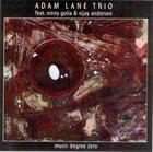 ADAM LANE Zero Degree Music (Feat. Vinny Golia & Vijay Anderson) album cover
