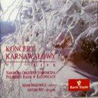 ADAM MAKOWICZ KONCERT KARNAWAŁOWY LIVE / Carnival Concert live album cover