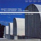 AGUSTÍ FERNÁNDEZ One Night At The Joan Miró Foundation album cover