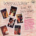 AHMED ABDULLAH Live At Ali's Alley album cover