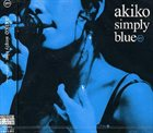 AKIKO Simply Blue album cover