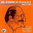 AL COHN In Concert April 17, 1986 album cover