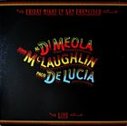 AL DI MEOLA Friday Night in San Francisco (with  John McLaughlin and Paco de Lucia) album cover