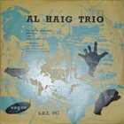 AL HAIG Al Haig Trio (Vogue L.D.E. 092) album cover