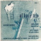 AL HAIG Al Haig Trio ( Esoteric  ESJ-7 ) album cover