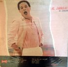 AL JARREAU In Concert Live At London's Wembley Arena (aka In London) album cover
