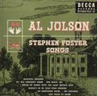 AL JOLSON Stephen Foster Songs album cover