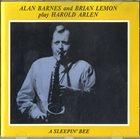 ALAN BARNES A Sleepin' Bee album cover
