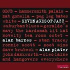 ALAN BARNES Alan Barnes and Alan Plater : Seven Ages of Jazz album cover