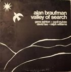 ALAN (ALLEN) BRAUFMAN Valley Of Search album cover