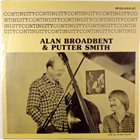 ALAN BROADBENT Alan Broadbent, Putter Smith ‎: Continuity album cover