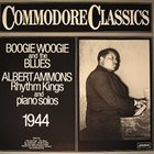 ALBERT AMMONS Boogie Woogie And The Blues album cover