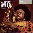 ALBERT AYLER Nuits de la Fondation Maeght, Volume 1 album cover