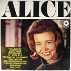 ALICE BABS Alice album cover