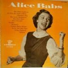 ALICE BABS Alice Babs album cover