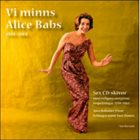 ALICE BABS Vi Minns Alice Babs album cover