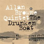 ALLAN BROWNE The Drunken Boat (​.​.​.​le bateau ivre) album cover